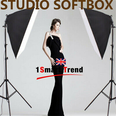 Photography Studio Softbox 1350W Continuous Lighting Light Stand Vedio KIT-2019