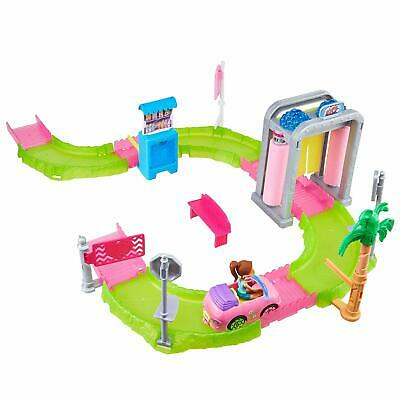 Barbie On The Go Auto Car Wash Motorised Car Doll Playset Play Track Set Girls
