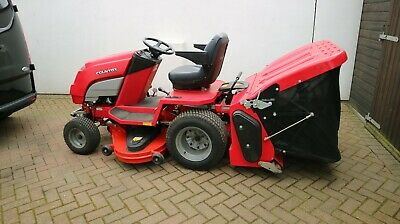 """countax A20/50 HE ride on lawnmower with powered grass collector 50"""" cut"""