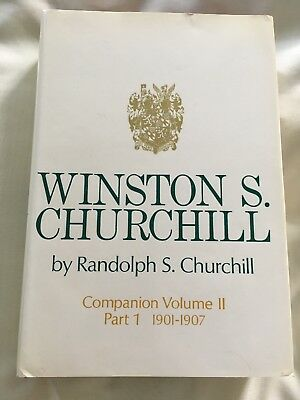 WINSTON S. CHURCHILL by Randolph S. Churchill - Companion Vol II Part I