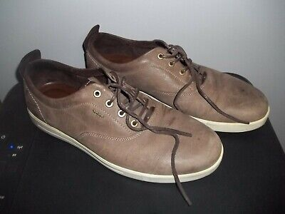 ECCO MENS SOFT 7 Perforated Sneaker US 10 EU 44 Brown