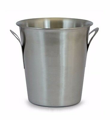 Champagne Bottle Ice Bucket - Stainless Steel Flat Handle. For Pub, Bar or home.