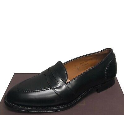 73de04e2d9242  748 Alden for Brooks Brothers Black Shell Cordovan New Loafers Size 12 A