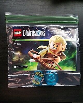 DIM008 NEW LEGO LEGOLAS FROM SET 71219 THE HOBBIT AND THE LORD OF THE RINGS