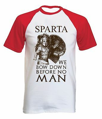 Sparta Spartan Warrior 23 - New Cotton Baseball Tshirt All Sizes