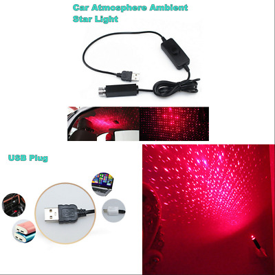 Universal Car Roof Star Atmosphere Night Lights Interior Ambient Projection Lamp