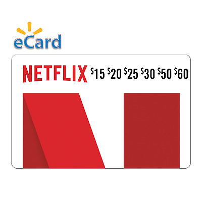 Netflix gift card USA - $ 60 $ 50 $ 30 $ 25 $ 20 $ 15 - 50? off - ecard-Digital