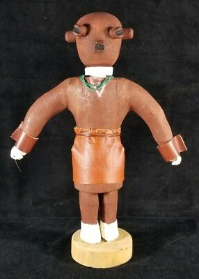 Vintage 1960s To 1970s Hopi Hand Carved Wood Kachina Doll 13 Inches FINE