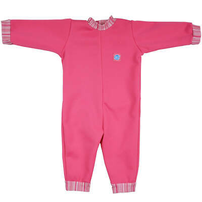 Splash About Warm In One Baby Wetsuit - Pink Candy 3-6 M - Photography Sample