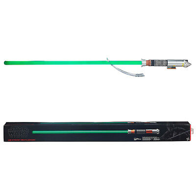 Star Wars Luke Skywalker Force FX Lightsaber Black Series Jedi Collectible Green