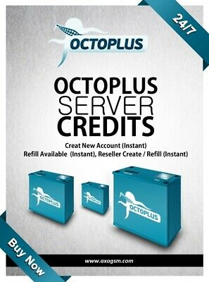 Octopus Octoplus Server Credits Unlock Fast Delivery Instant Pack 100 credits