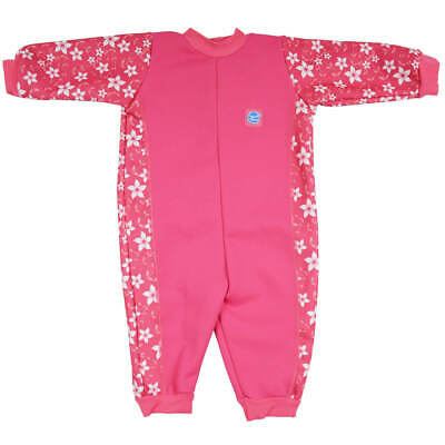 Splash About Warm In One Baby Wetsuit - Pink Blossom 12-24m - Photography Sample