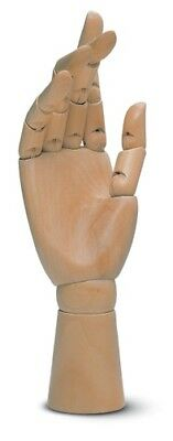 "12"" (300mm) ARTISTS WOODEN RIGHT HAND MANIKIN MANNEQUIN - RRP £29.99"