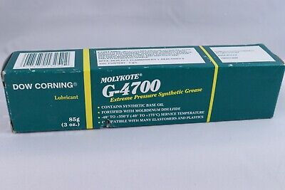 Dow Corning Molykote G-4700 Extreme Pressure Synthetic Grease 3oz Tube New