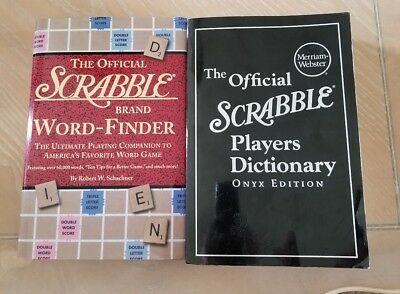 OFFICIAL Scrabble Players Dictionary Onyx Ed. & Official Scrabble Word-Finder