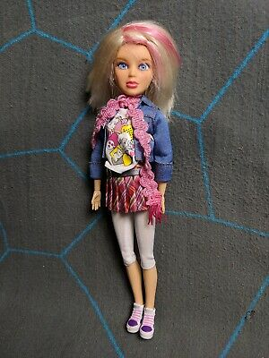Spinmaster Liv Doll Sophie Blonde Pink Wig + Outfit Shoes