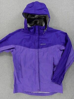Marmot PRECIP WaterProof Rain Jacket (Girls Large) Purple