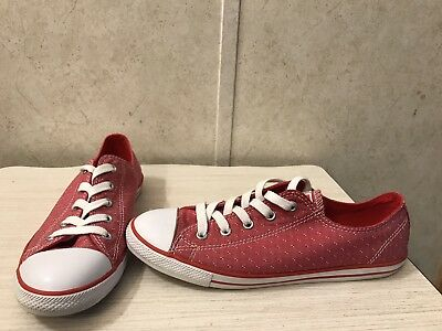 150731955ce2 CONVERSE CHUCK TAYLOR All Star Low Top Women Size 8 in Maroon, Red ...