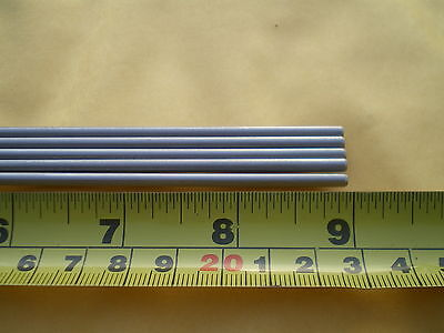 "5 Pcs. Stainless Steel Round Rod 304, 5/32"" (.156"") (4Mm.) X 9"" Long"