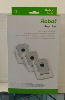NEW iRobot Roomba Dirt Disposal Bag 3 Pack Fits All Clean Base Models