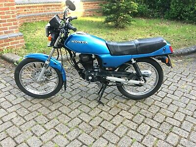 Honda Cb125 Rsd Rare Model Barn Find Restoration Project Bike Runs And Rides