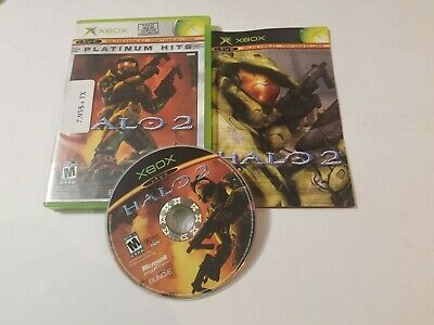 Halo 2 (Microsoft Xbox, 2004) complete in box, tested & FREE SHIPPING