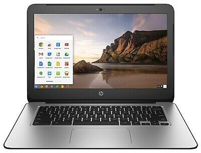 "HP Chromebook  G3 14""  2.1GHz 4GB 16GB Chrome OS in Black (K4K11UA)"