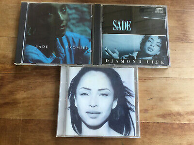 SADE ‎[3 CD Alben] Diamond Life (No Barcode) + Promises (No Barcode) + BEST OF