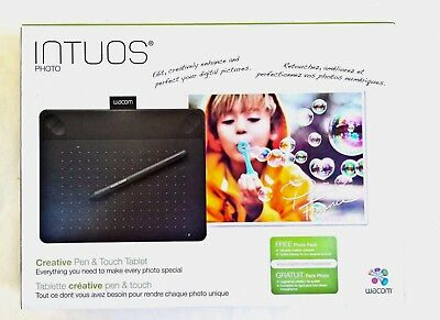 Wacom Intuos Photo Pen & Touch Tablet Digital Photo Editing Tablet