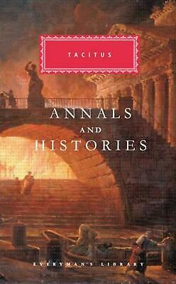 Annals and Histories by Cornelius Tacitus (English) Hardcover Book Free Shipping