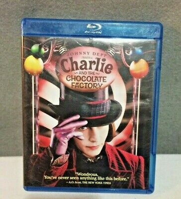 Charlie and The Chocolate Factory 2011 Blu-Ray DVD