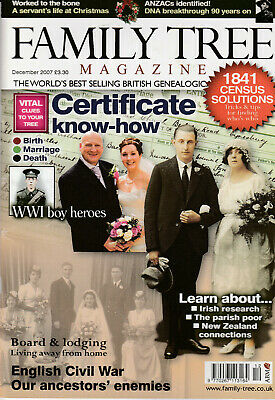 FAMILY TREE Magazine December 2007 - Cetificate Know-How