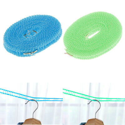 3/5m Portable Clothesline Line Dryer Laundry Travel Windproof Rope Drying