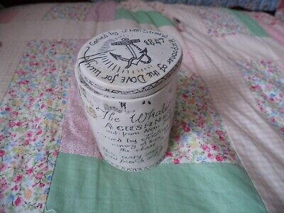 scrimshaw pot very quirky item