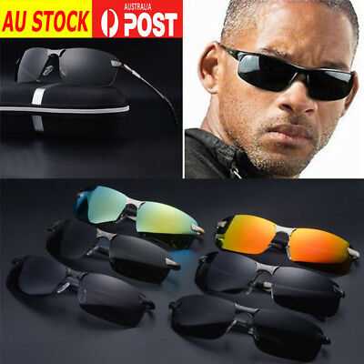 Men's Polarized Driving Sport Sunglasses Fashion Sun Outdoor Glasses AU Eyewear