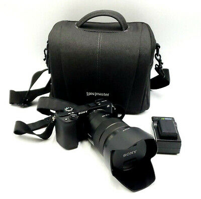 PRE-OWNED Sony Alpha a6300 Mirrorless wit 18-105mm G OSS Lens Very Good