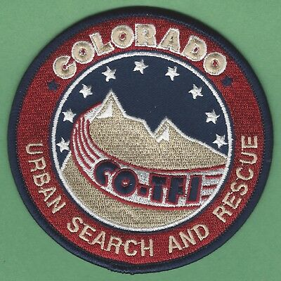 Colorado Usar Urban Search And Rescue Team Task Force 1 Patch