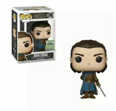 Funko Pop Arya Stark 2019 ECCC Shared Exclusive GOT In Hand FREE SHIP
