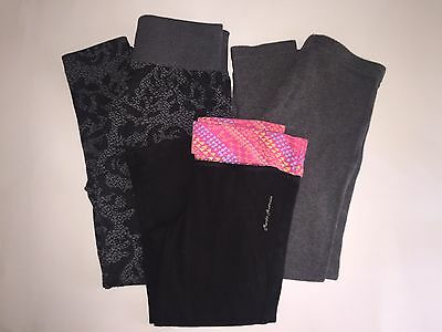 Gymboree Girls 7-8 Leggings 7 8  Excellent Condition!!! 3 Pair!!!!