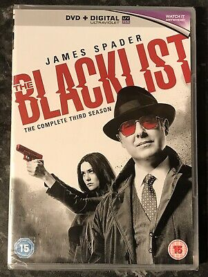 The Blacklist Complete Season 3 (6-Disc Dvd Set) New & Sealed Free Post