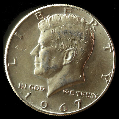 1967-P Kennedy 40% Silver Clad Half Dollar Ships Free. Buy 5 for $2 off