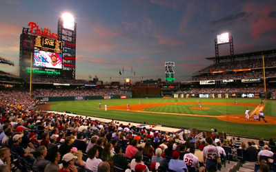 Phillies v Giants 8/1/19  08/1/19  BPS! 100 level 2 seats in a 2 seat row PAIR
