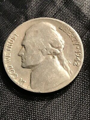 1942 D Jefferson Nickel - 15% off 5+