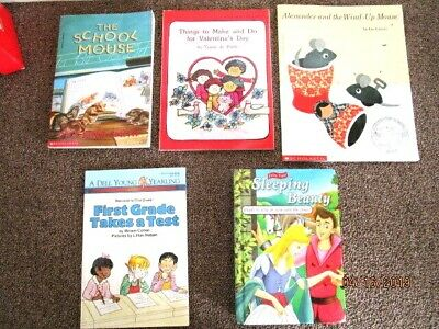 Story Time Bundle / Lot of 5 Story Books for Toddlers Young Children Kids - H-10