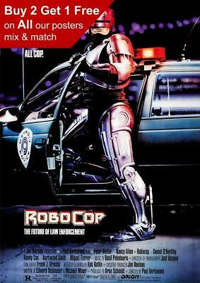 Robocop 1987 Movie Poster A5 A4 A3 A2 A1
