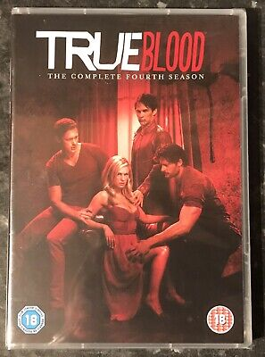 True Blood Complete Season 4 ( 5-Disc Dvd Set) Brand New & Sealed Free Post