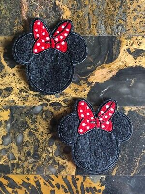 "1 Mickey Mouse Classic Baby Iron On Sew On Patch 2.25/""L x 2.75/""W Same Day Ship"