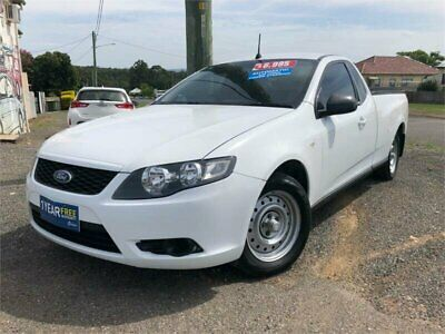 2010 Ford Falcon FG White Automatic A Utility