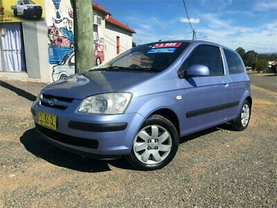 2003 Hyundai Getz TB GL Blue Automatic 4sp A Hatchback