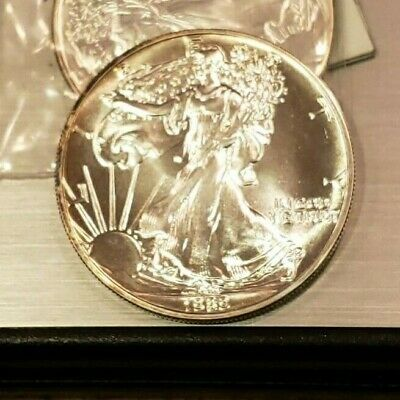 1989 1 oz Silver American Eagle Beautiful Coin A-U Condition!